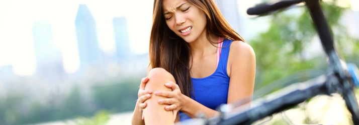 sports injury knee pain